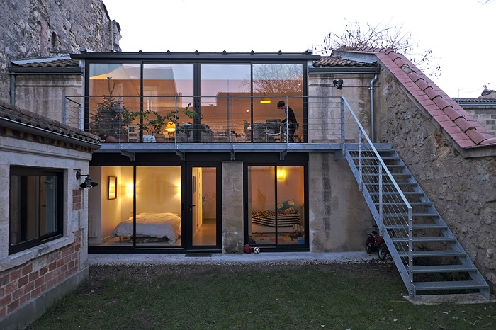 Les 10 plus belles r novations d 39 choppes bordelaises for Recours architecte extension garage
