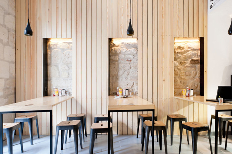les 10 plus belles r novations de restaurants bordeaux architectes bordeaux. Black Bedroom Furniture Sets. Home Design Ideas
